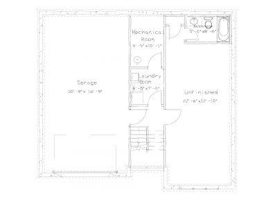Basement Plan 1